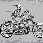 skeleton moto