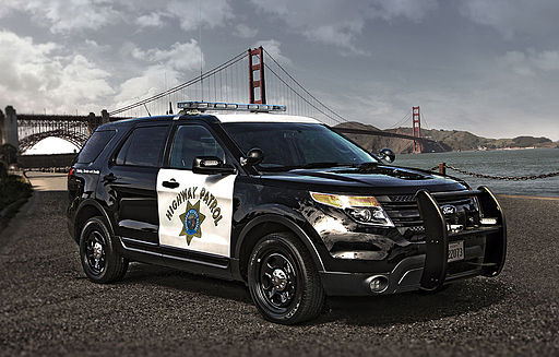 California Highway Patrol Involved Accident