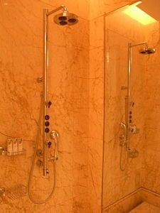 slip and fall in shower