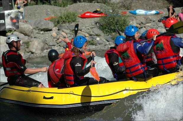 American River Rafting Injuries