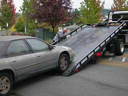 car storage fees after accident