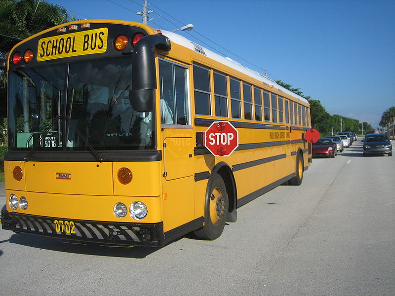Redding Bus Safety Announcement