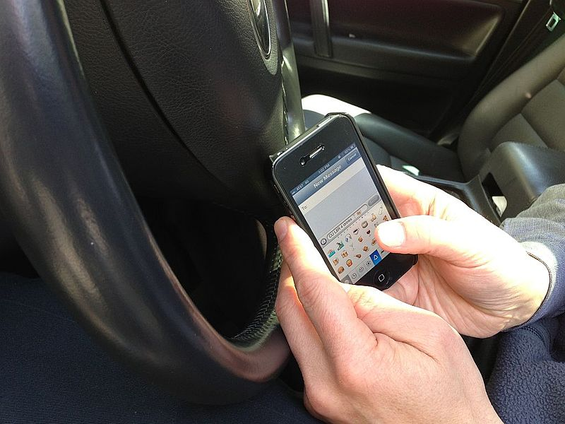 New California Distracted Driving Law