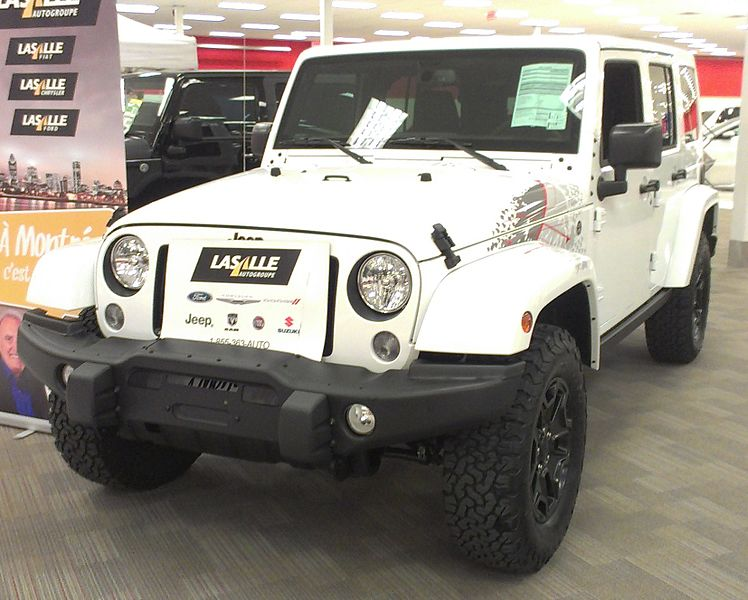 Jeep Wrangler Recall