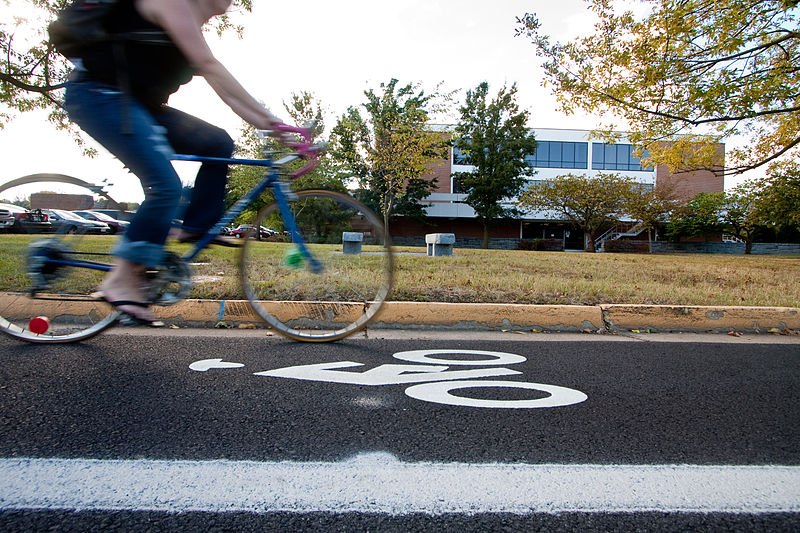 800px-Bicycle_Lane_on_Eastern_Mennonite_University_Campus