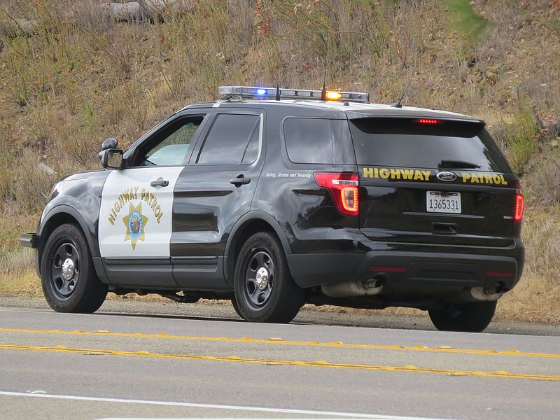 Carmichael CHP Vehicle Crash