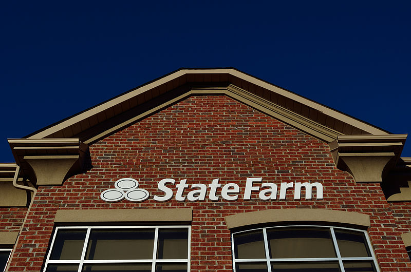 State Farm Insurance Office Crash