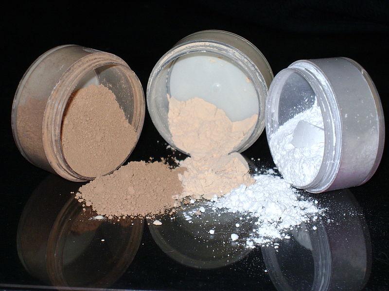 talcum powder composition