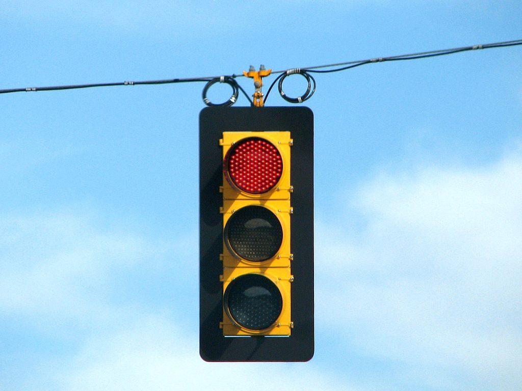 Modesto Red Light Crash