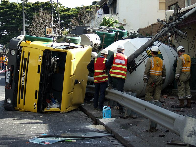 Dangers of Cement Truck Accidents