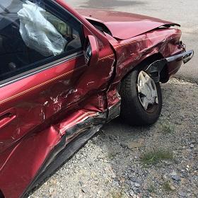 Broadside Collision Traps Woman in Vehicle Near Modesto