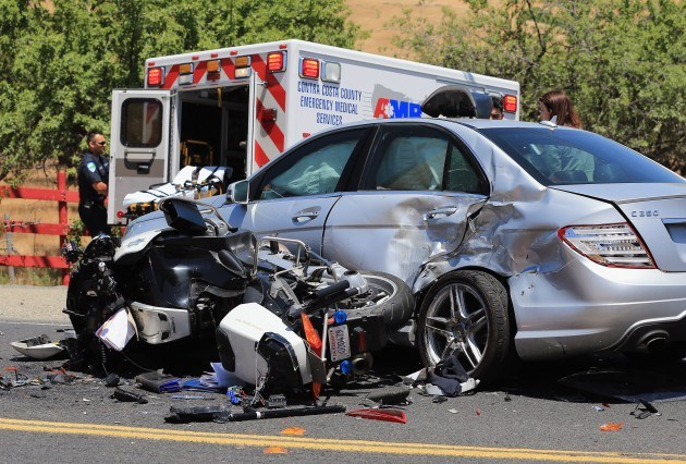 Major Injury Motorcycle Accident in Ojai