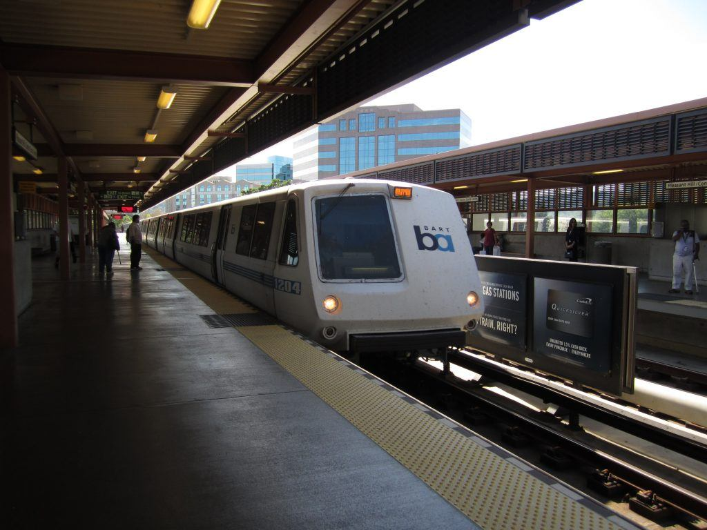 Riding With BART in the New Year