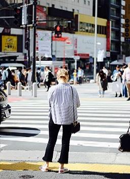 Woman Dies in Crosswalk Accident
