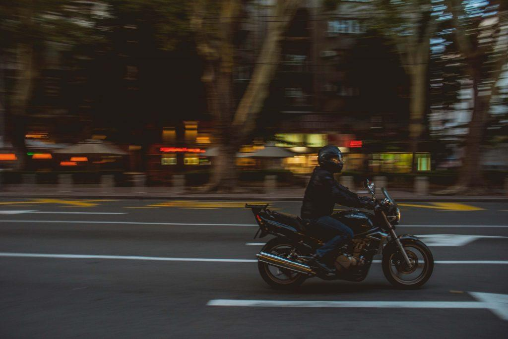 Minimize Motorcycle Accidents at Bumps, Blind Spots and Intersections