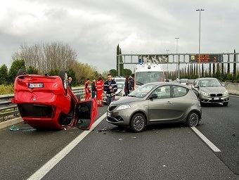 Three-Car Accident in Sacramento