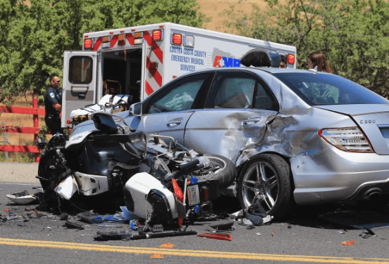 Motorcyclist Hospitalized after Eureka Crash