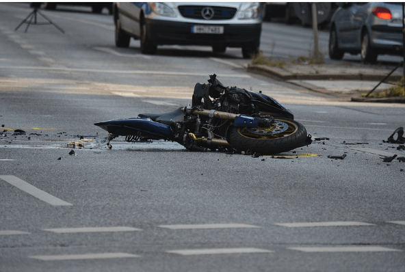 Napa Crash Hospitalizes Motorcycle Rider