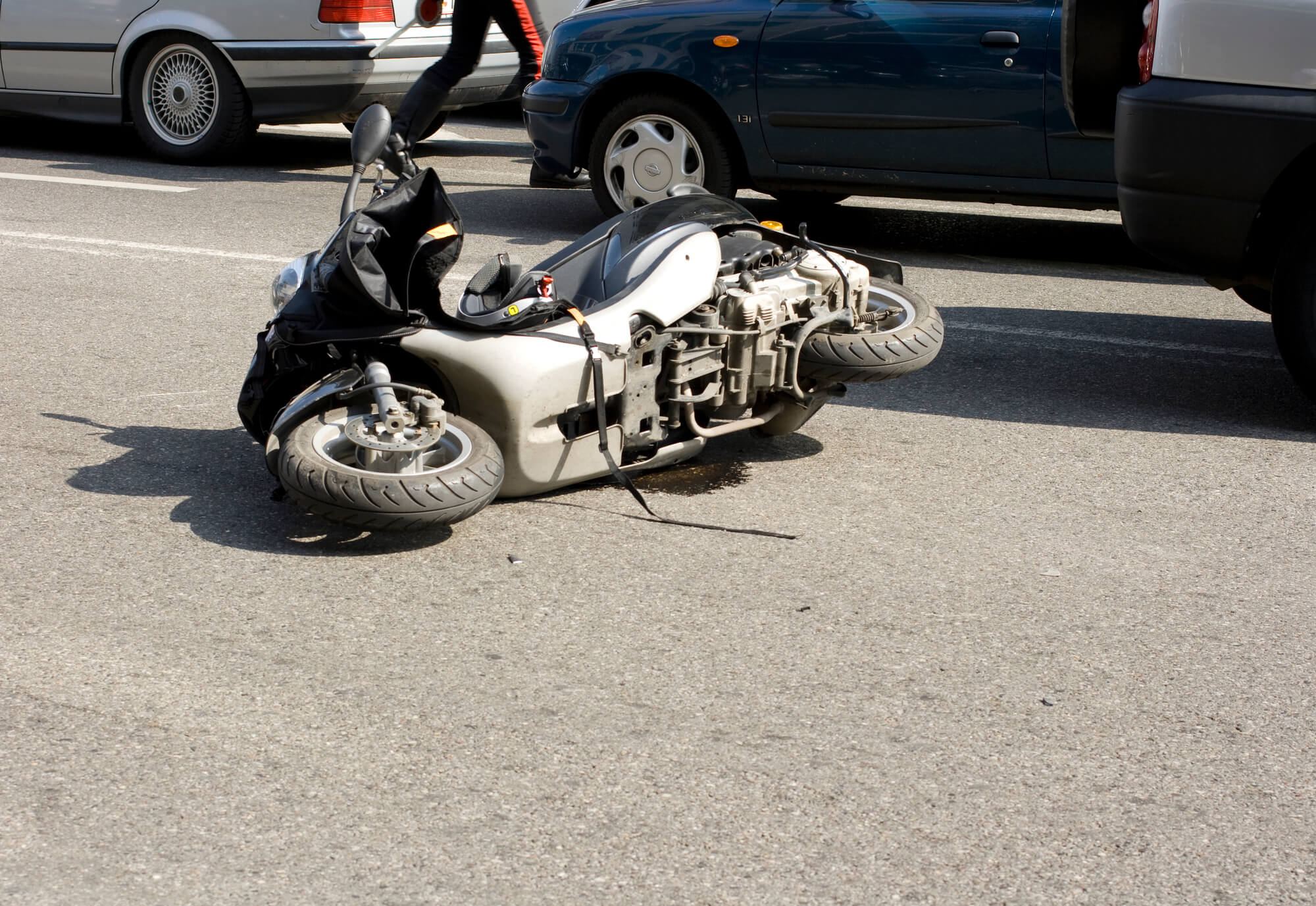 Brentwood Hit and Run Leaves Motorcyclist Critically Injured