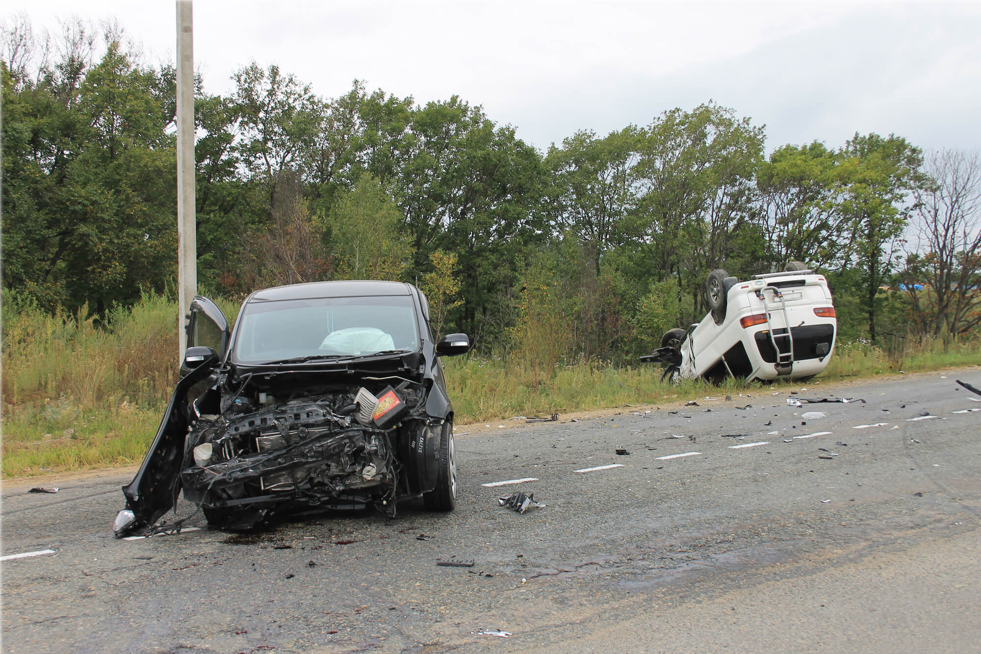 Brentwood Accident Injures Three Including One Infant