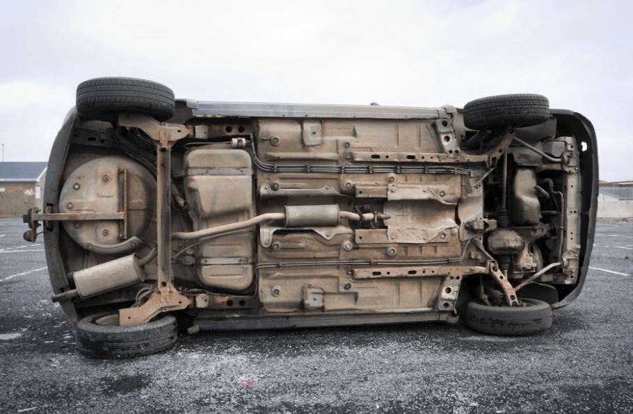 Auburn Rollover Highway Crash Hospitalizes Two