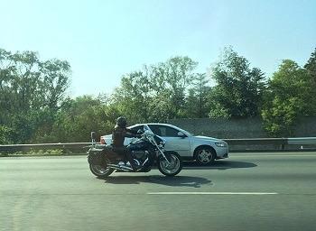 Sacramento motorcycle crash injures biker