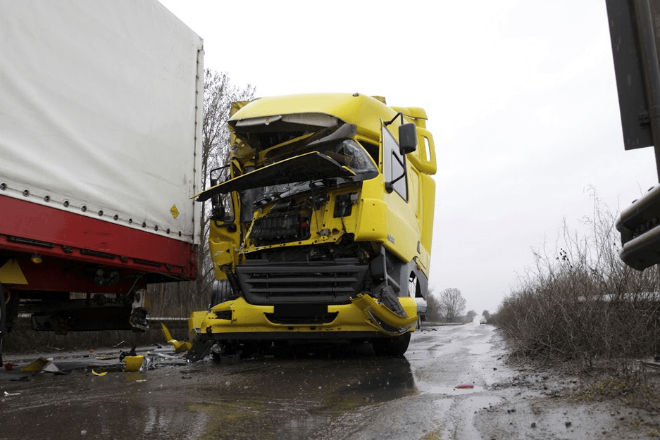 Chico Trucking Crash Injures One