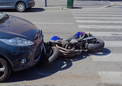Antelope Motorcycle Crash Injures Biker