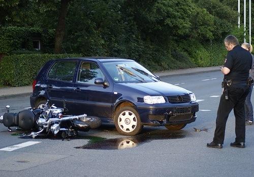 Rosemont Motorcycle Collision Injures Biker