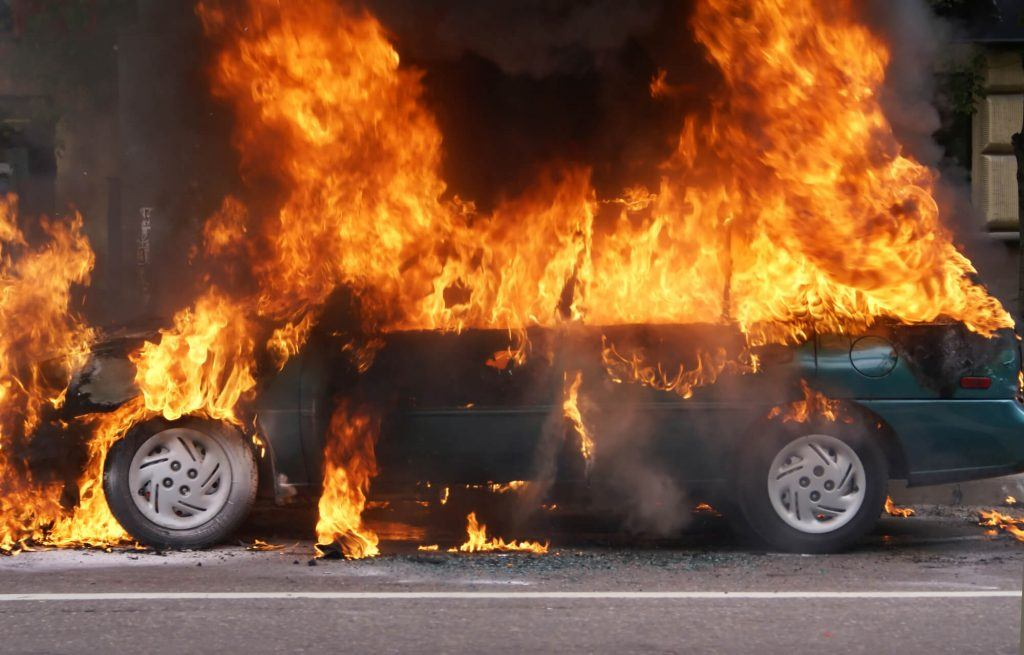 Automobile Fires – Safety and Escape