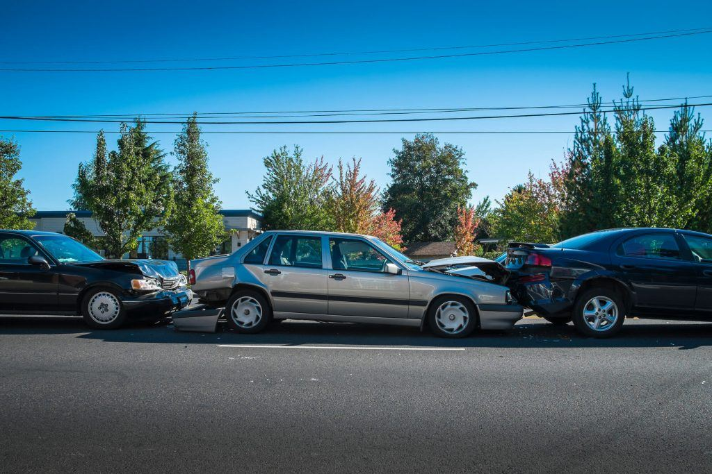 Three Vehicle Collision in Oakley Injures Three
