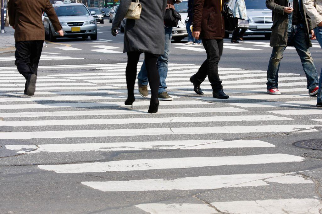 Who is at Fault When a Pedestrian Runs into the Street and is Hit by a Car?