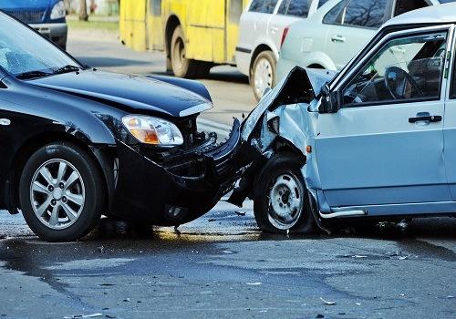 Front End Crash in FairOaks on Greenback Lane