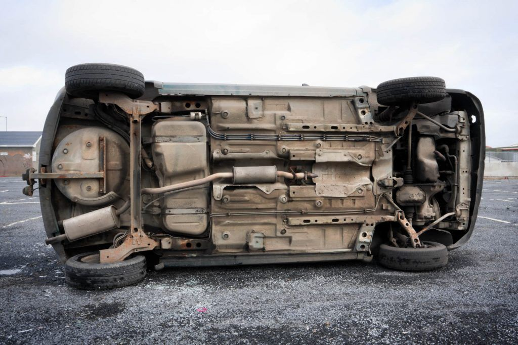 Rollover Accident Injures Two Near Winton