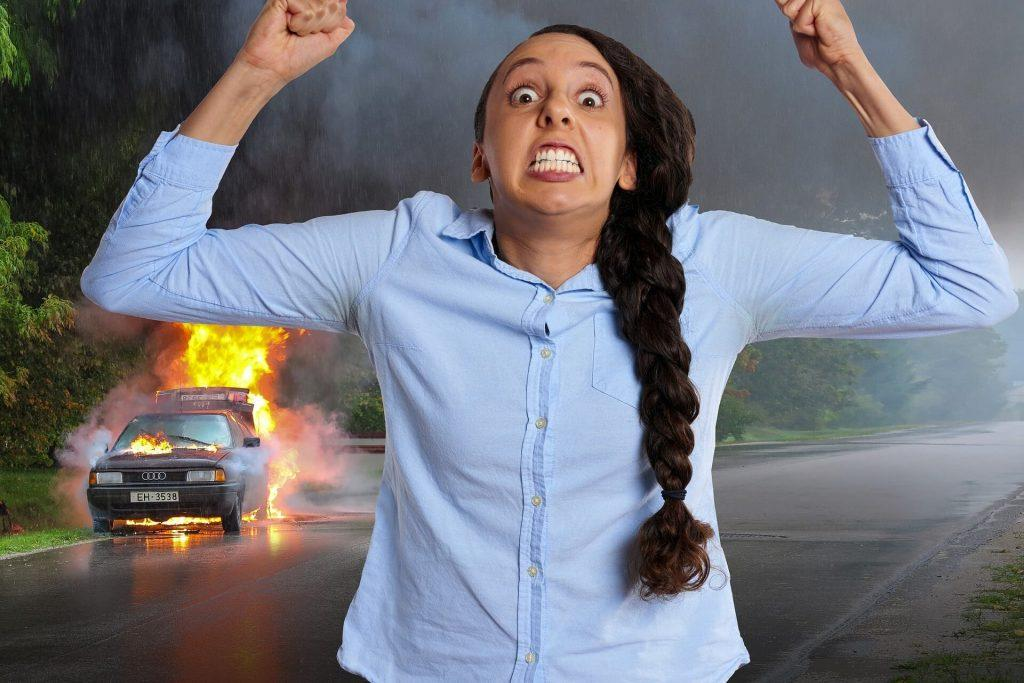 Avoid Being a Road Rage Victim