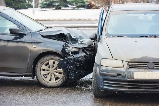 Major Collision on Interstate 80