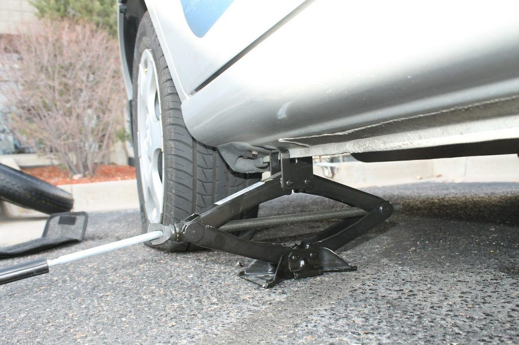 Negligent Driver Hits Man Changing Tire on I-5