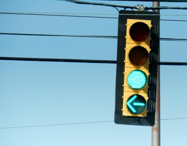 Roseville New Traffic Light