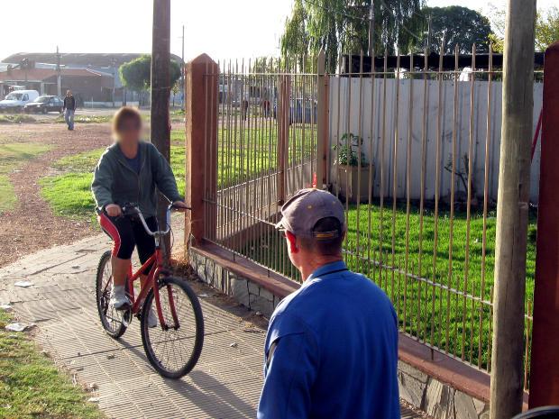 Bikes on Sidewalks in Sacramento