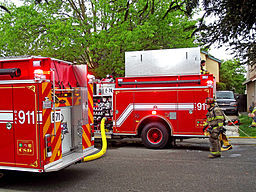 Elk Grove Crash Injures Firefighter