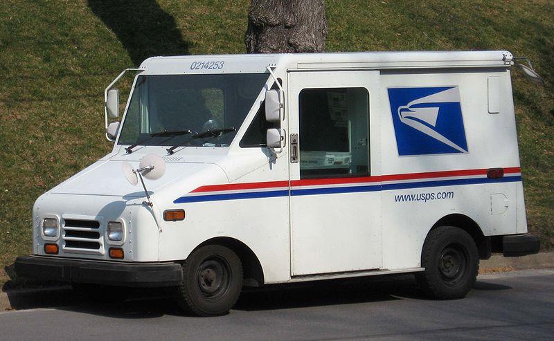 Tracy Stolen Mail Truck Crash