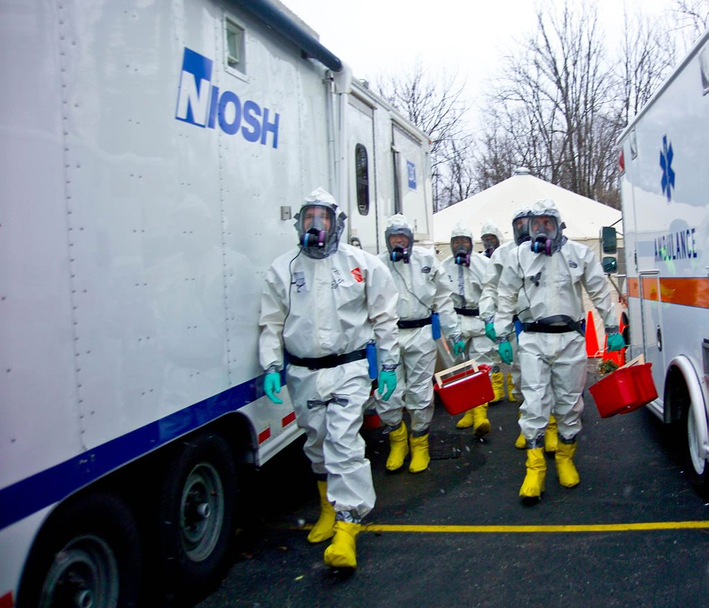 Car Crash Causes Chemical Spill