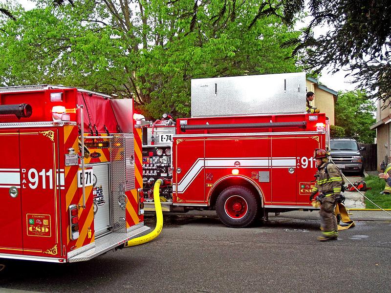 SUV Causes Apartment Gas Leak