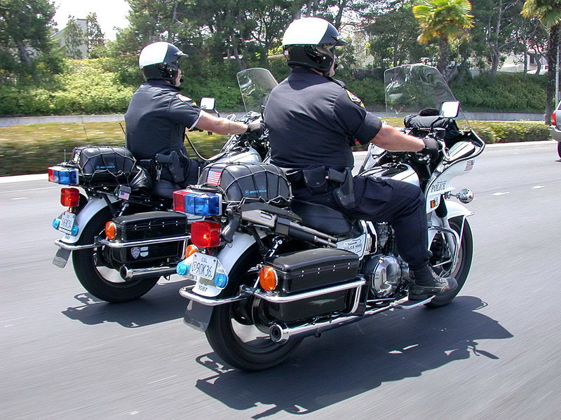 Crash Injures Modesto Motorcycle Officer