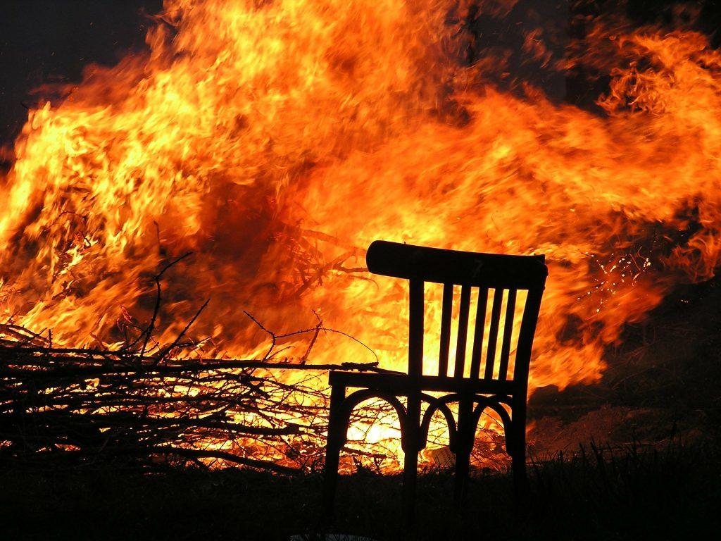 Stockton Pallet Fire