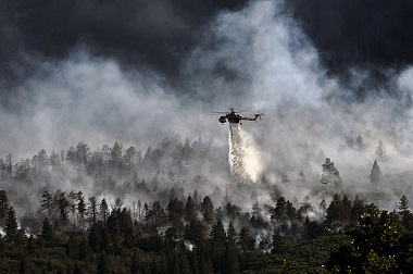 Night-time Water Dropping Aircraft Not Used in Northern CA Wildfires
