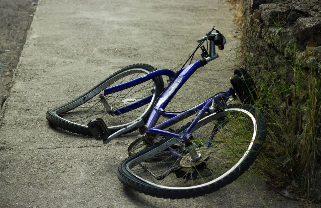 Slipped Disc in a Child's Bicycle Accident