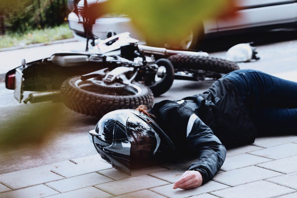 A Case Report: Motorcycle Caliper Injury