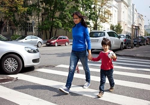 West Sacramento pedestrian