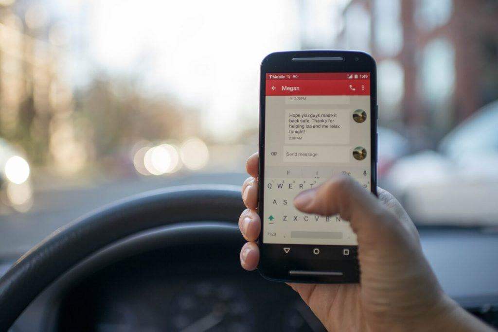 Smart Devices and Distracted Driving